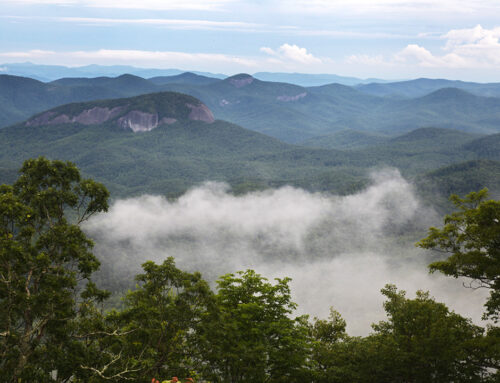 Pounding Mill Overlook – Blue Ridge Parkway