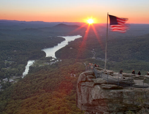 Chimney Rock Sunrise – 10-14-14